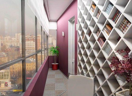 Дизайн узкого балкона, идеи.