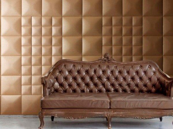 11. Отделка стен кожей, безусловно, добавит эксклюзив и шик интерьеру. Стеновые панели, изготовленные из натуральной кожи, сохраняют свою красоту много лет.