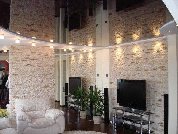 14. Зеркальные потолки выглядят очень эстетично. Они выполнены из экологически чистых материалов и отличаются длительным сроком службы.
