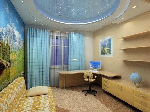 Детская и гостиная в одной комнате дизайн фото