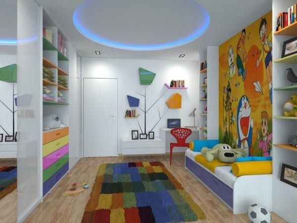 Освещение в детской комнате, идеи.