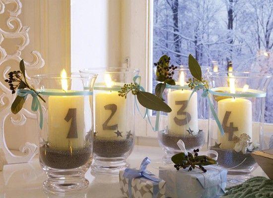 Новогодний интерьер своими руками