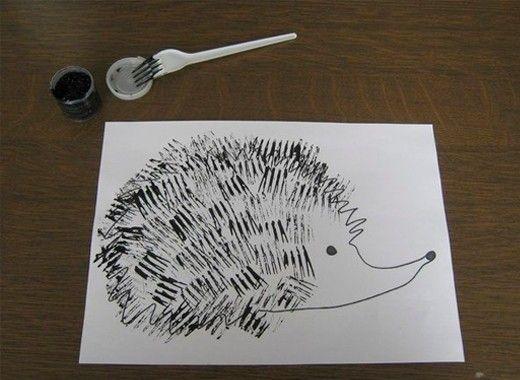 Необычные способы рисования