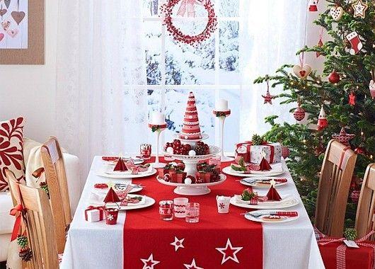 Новогодний декор кухни