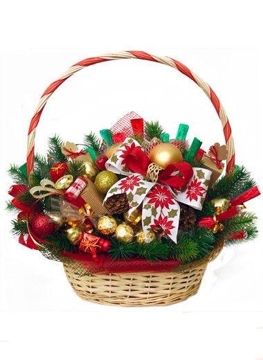 Новогодние подарки из конфет