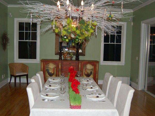 Идеи декора новогоднего стола