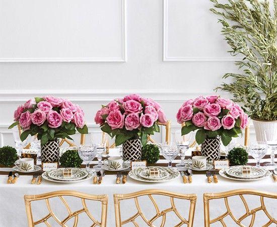 Свадебный стол. Идеи оформления