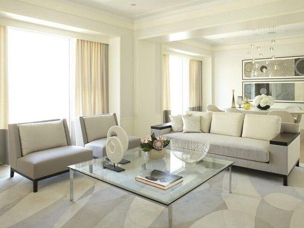 Стеклянная мебель в интерьере