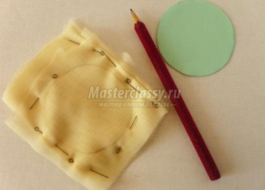 Банты из ткани