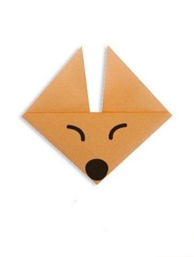 Оригами животные схемы