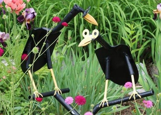Садовые фигуры своими руками