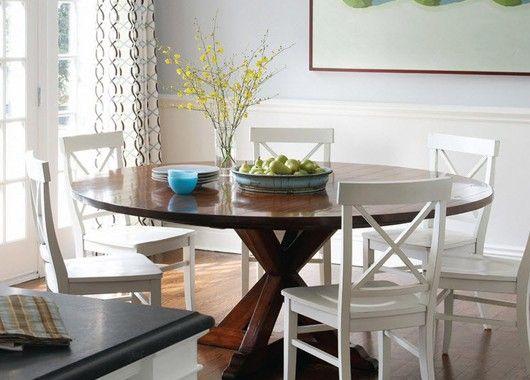 Деревянный стол для кухни