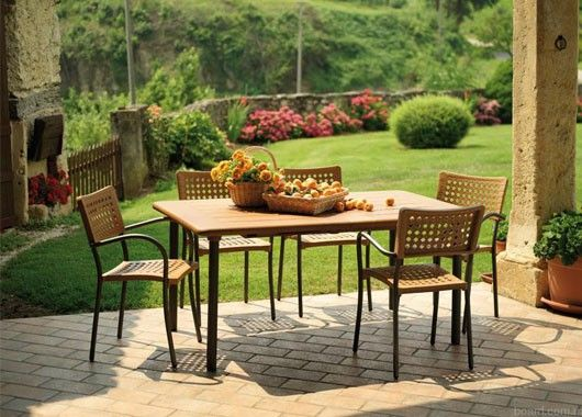 Пластиковая мебель для сада и дачи