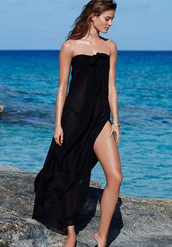 Пляжная накидка на купальник