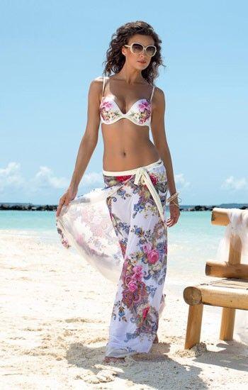 Пляжная юбка, идеи