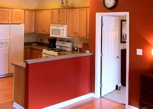 Дизайн дверей кухни