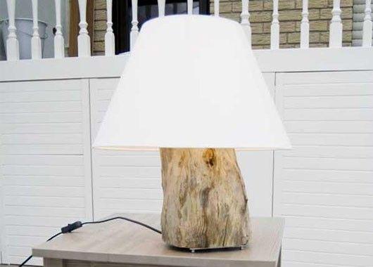 Декор интерьера из дерева
