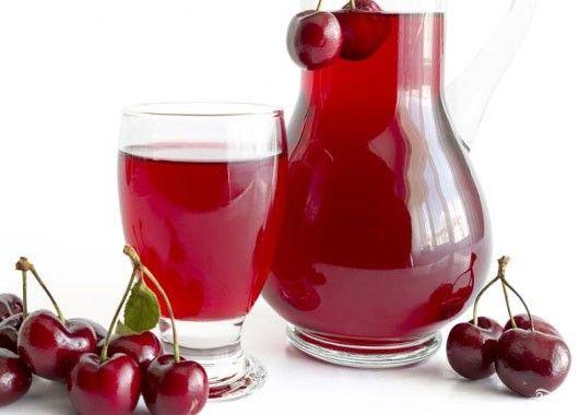 Компот. 3 кг вишен, 750 г сахара, 1.5 л воды. Спелые, плотные вишни промыть, отделить от плодоножек, уложить в банки и залить охлажденным сахарным сиропом. Банки плотно закрыть крышками, поставить в кастрюлю с решетчатым вкладышем и пастеризовать 20 минут при 80 С или стерилизовать в кипящей воде 5 минут.