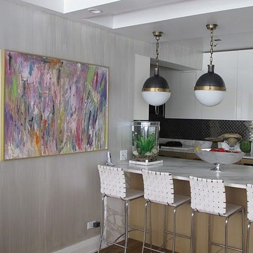Картины в интерьере кухни
