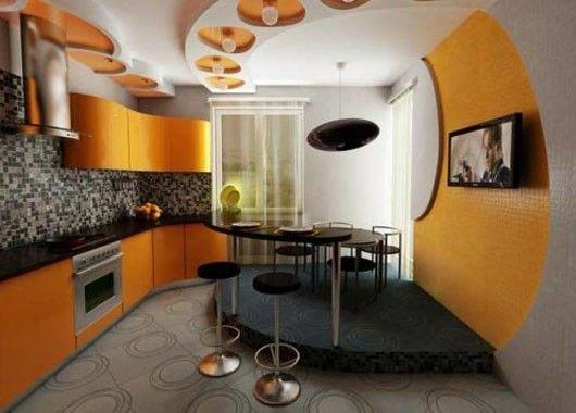 Подиум на кухне