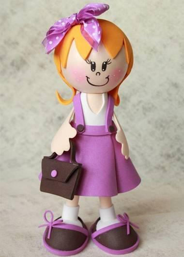 Куклы из фоамирана