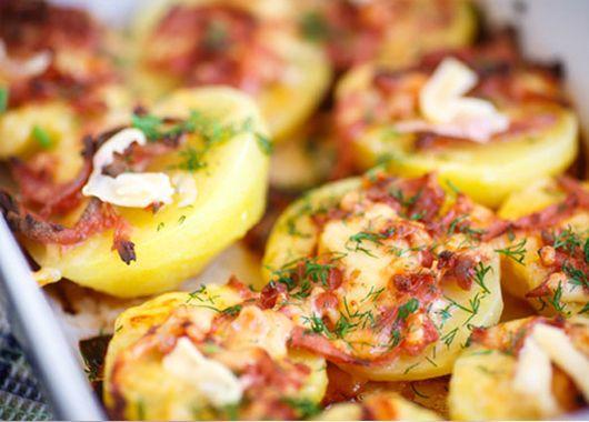 Что приготовить к вареной картошке