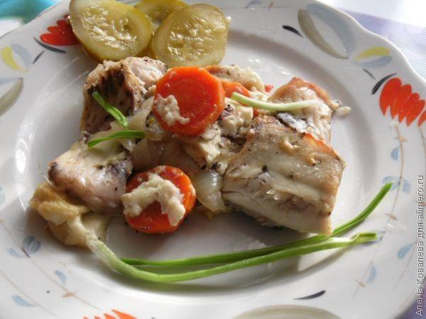 запеченная рыба рецепт