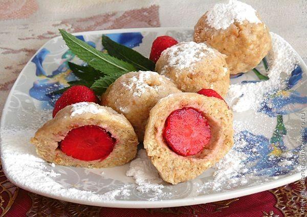 Шарики из печенья