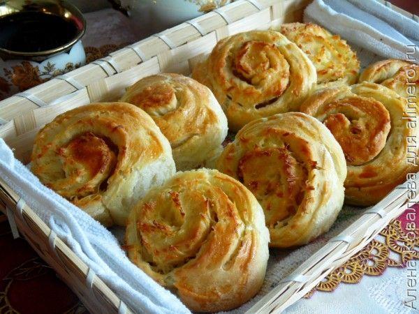 рецепт пампушек сырных