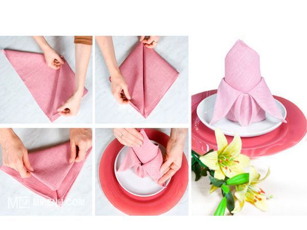 Бумажной салфеткой нужно пользоваться только один раз. После окончания трапезы грязные салфетки кладут на тарелку вместе с приборами.