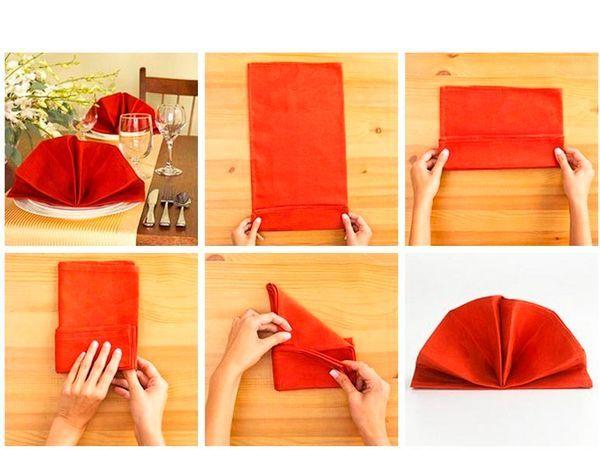 Оказавшись у кого-то дома в гостях (а быть может, в заведении, где тканевых салфеток нет), используйте большие бумажные салфетки по тем же правилам, что и полотняные.