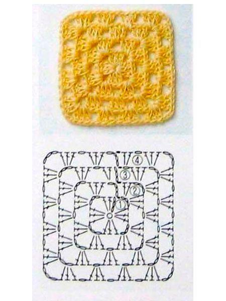 Если будете вязать плед из разноцветных кружочков, расположите их либо в шахматном порядке, либо полосами по диагонали.