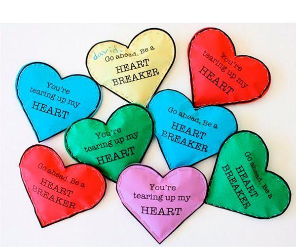 36 идей валентинок