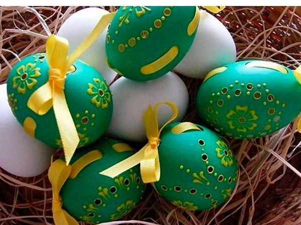 Украсить яйца к пасхе своими руками с ребенком
