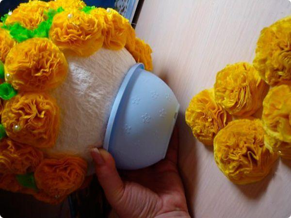 Как сделать своими руками цветы в горшке 28