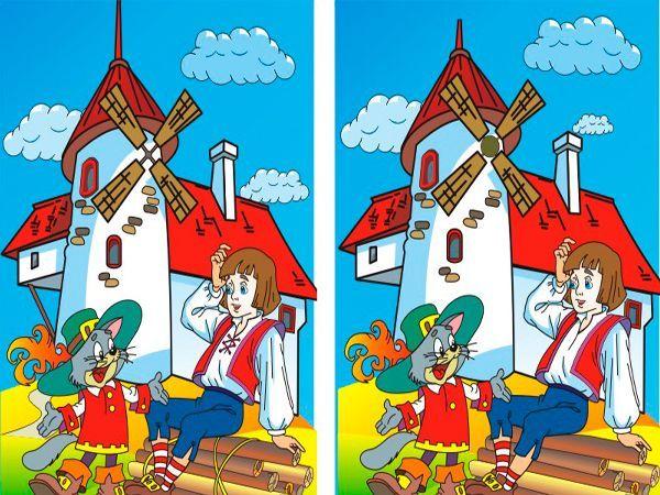 Игры для детей. Найди отличия.