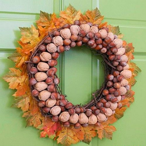 Осенние венки, идеи.