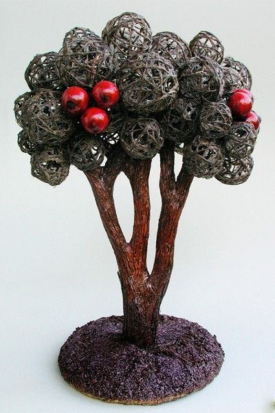 Декоративные деревья, идеи.