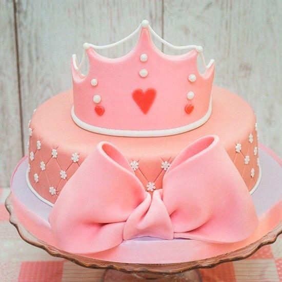 Оформление тортов для девочек