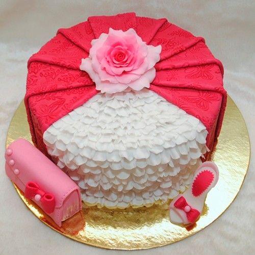 Оформление тортов для женщин, идеи.