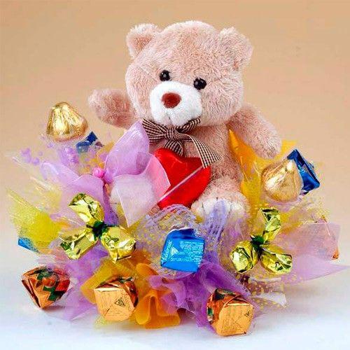Подарки детям из сладостей
