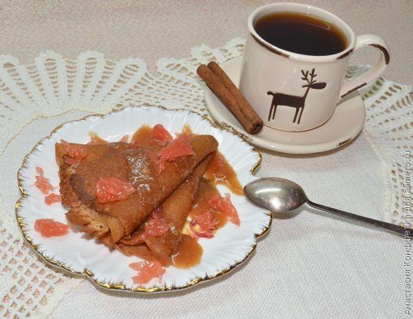 карамельные блинчики рецепт