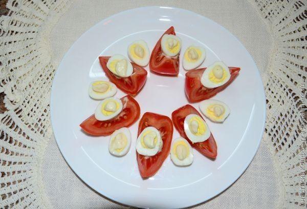 закуска из перепелиных яиц рецепт