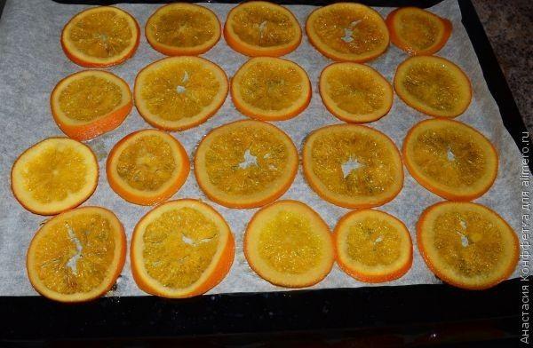 карамелизированные апельсины рецепт