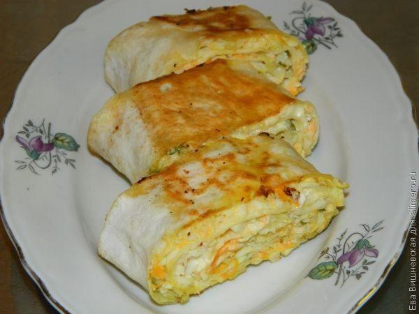 закуски рецепт в лаваше