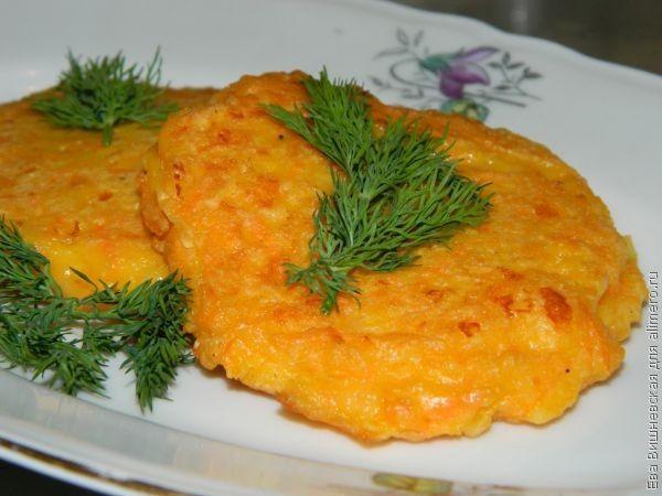 Морковные драники