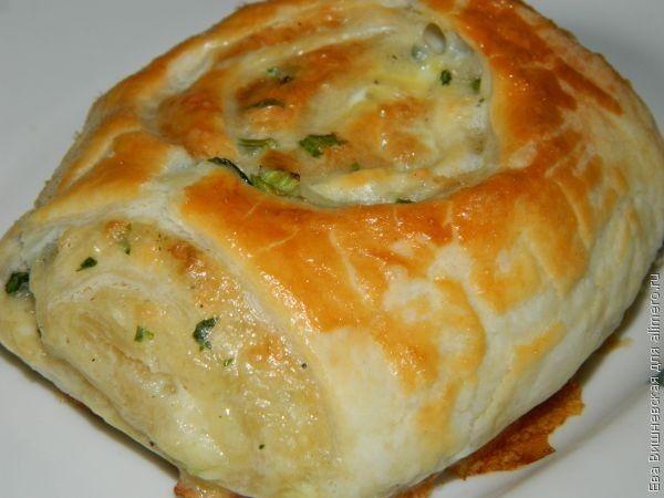 слойки с сыром