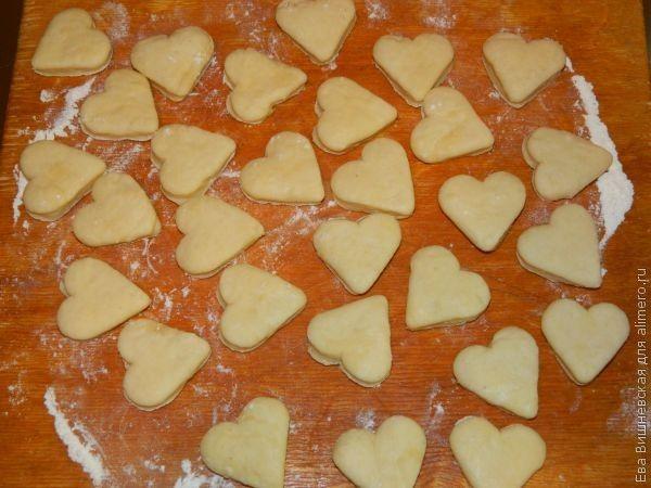 печенья с начинкой рецепт с фото