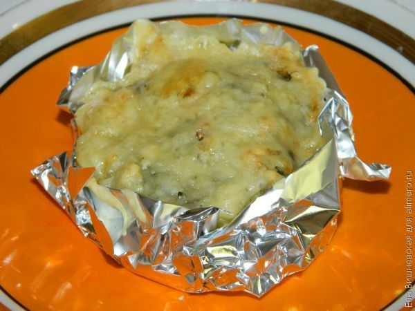 картофель в шубке