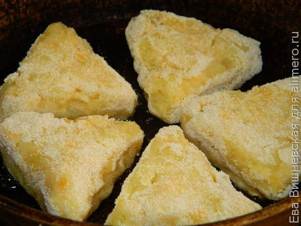Картофельные треугольнички